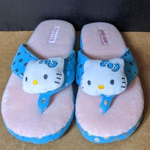 Hello Kitty Slippers - 9-10 - NWOT